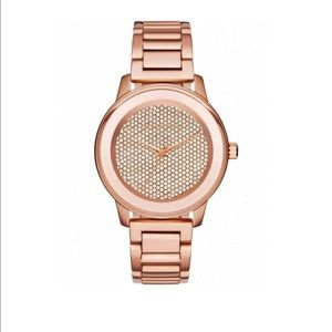 Michael Kors Women's Kinley Rose Gold-Tone Watch